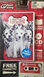 102 Dalmatians 32 Page Book Cassette and CD