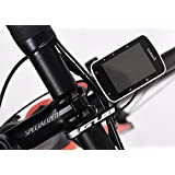 GUB Sports Out Front Bike Handlebar Computer Mount For Garmin Edge 25 200 500 510 520 800 810 1000 GPS Etc All Series (black)