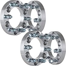 """ECCPP Wheel Spacer, (4) 1"""" Wheel Spacers Adapters 6x5.5 to 6x5.5 or 6x139.7mm to 6x139.7mm 12x1.25 Studs Fits for Nissan Armada Nissan Frontier Nissan Titan Nissan Xterra"""