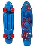 PlayWheels Ultimate Spider-Man 21'' Kids Complete Plastic Skateboard