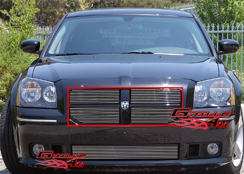 Dodge Magnum Billet - APS Fits 2005-2007 Dodge Magnum SRT8 Main Upper Billet Grille Insert #N19-A02668D