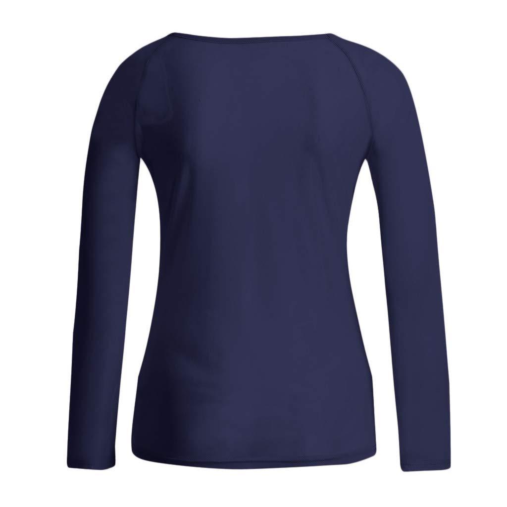 Fineser Women Shirt Blouse Womens Long Sleeve See-Through Shirt Sheer Top Mesh Shirt Blouses S-2XL