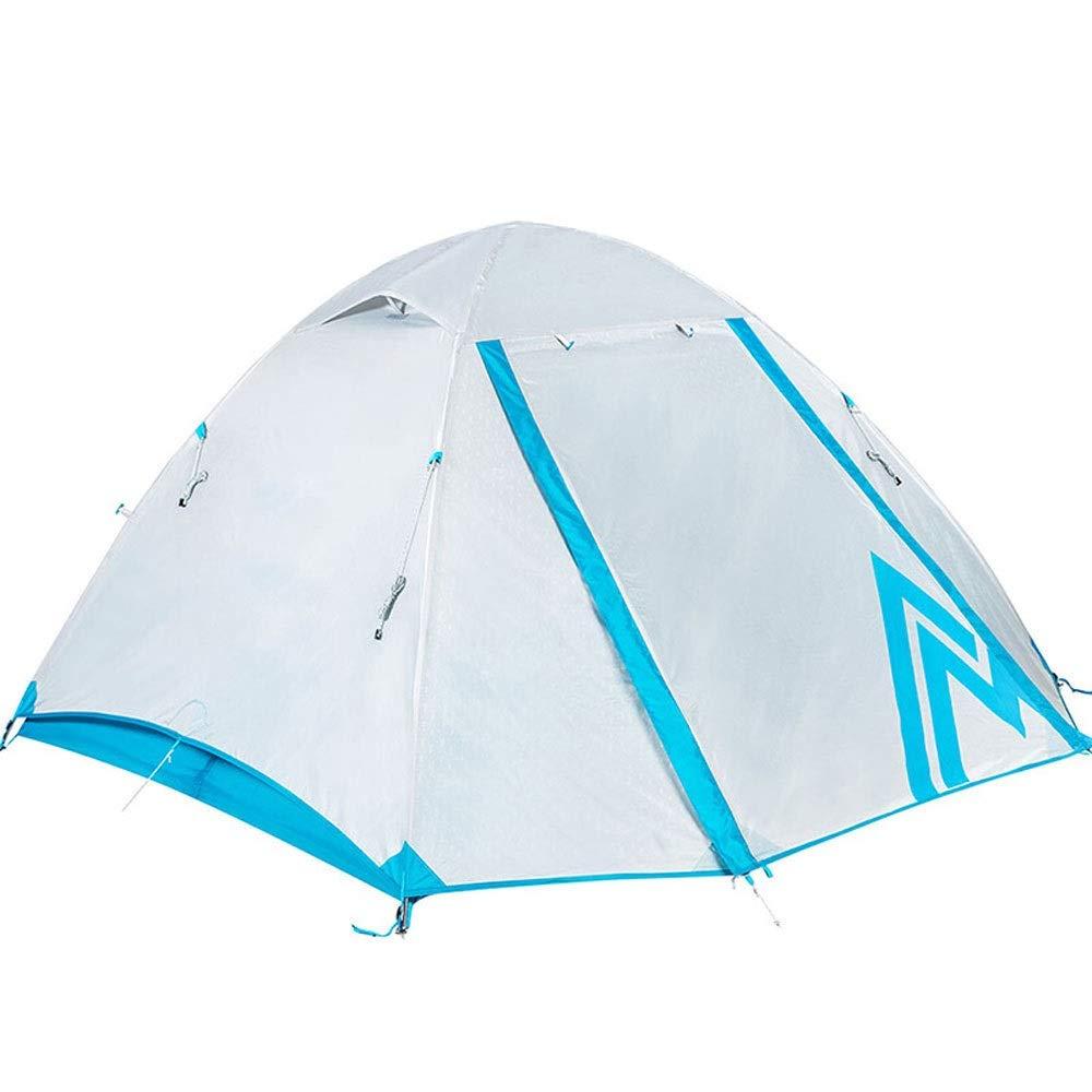 DGLLO Campingzelt 2-Personen Leichtes Backpacking Zelt Wasserdicht Zwei Türen Einfache Einrichtung Zelt Für Outdoor, Wandern Bergsteigen Reisen, Outdoor Ausrüstung Wandern Camping Winddicht Und Starke