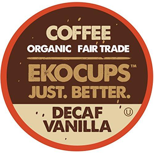 EKOCUPS Artisan Organic Vanilla Medium Recyclable