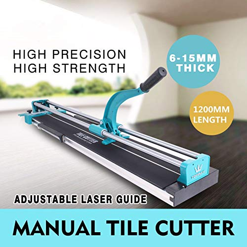 Professional and Heavy Duty 48″ Manual Tile Cutter Cutting Machine For Large Tile with Laser Guide