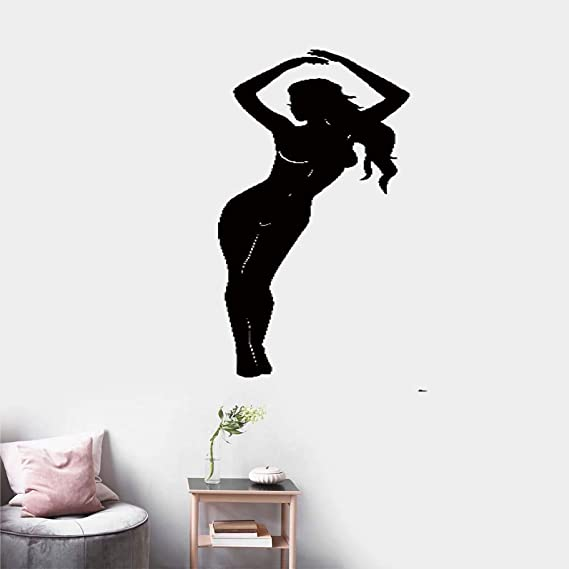 pegatinas de pared tortugas ninja Striptease Hot Sexy Girl ...