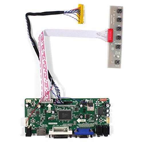 (HDMI+VGA+DVI+Audio Input LCD Controller Board for HSD100IFW1 CLAA089NA0ACW 10