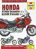 Honda NTV700V Deauville & XL700V Transalp Service and Repair Manual: 2006 to 2012 (Haynes Service and Repair Manuals) by Matthew Coombs (2013-07-17)