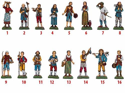 1 berger 10 cm en résine (3) Figurine Figurine crèche