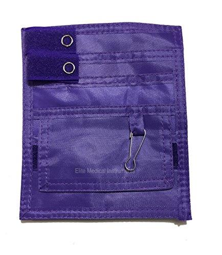 EMI Medical Nylon 5 Pocket Nurse Scrub Organizer (Purple)