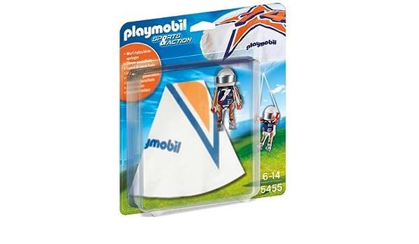 PLAYMOBIL Sports & Action - Juegos de aire libre - Paracaidista ...