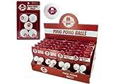 bulk buys Alabama Ping Pong Balls (Countertop Display), White/Red
