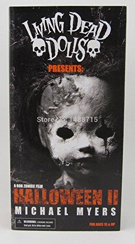 Living Dead Dolls Halloween 2 Killer Michael Myers Kid Version Classic Rob Zombie Horror Film Mezco 11