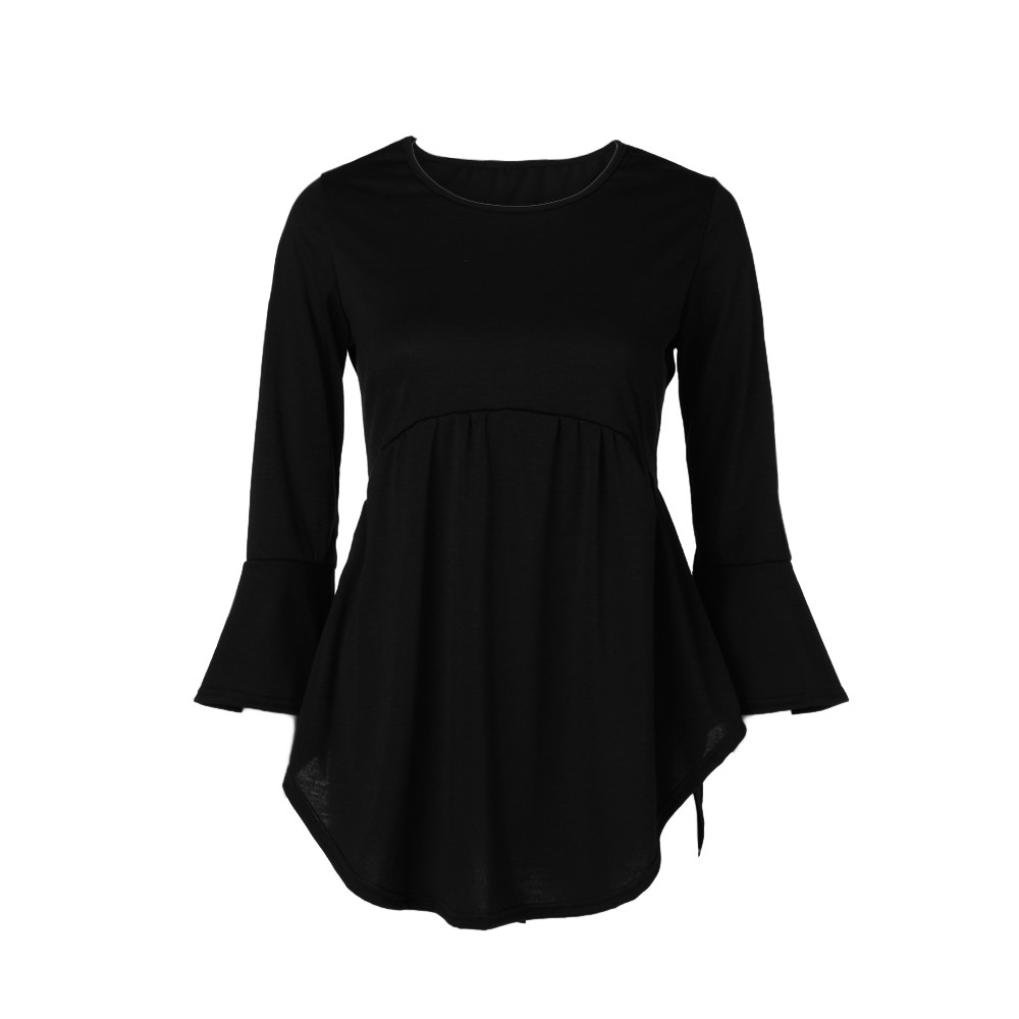 Amazon.com: Vermers Clearance - Camisa plisada para mujer ...