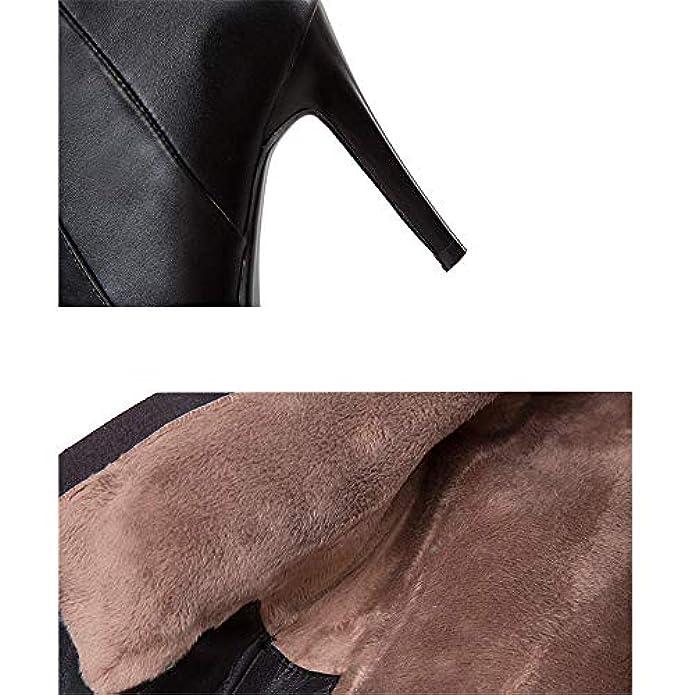 Shirloy stivali Eleganti Da Donna Con Temperamento Stivali Tacco Alto Fascino Sexy In Pelle A Punta