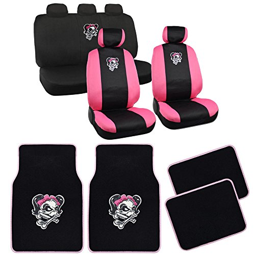 cute car seat covers floor mats - 1