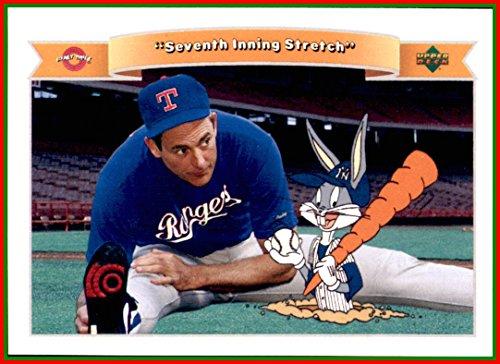 Ball Ryan Nolan (1991 Looney Tunes Upper Deck Comic Ball #91 Nolan Ryan HOF Texas Rangers Bugs Bunny)