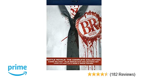 Amazon com: Battle Royale: Colect Bdrpk V2 [Blu-ray]: The Battle