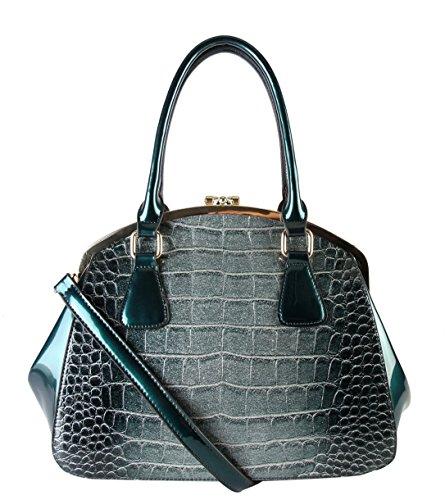 rimen-co-shiny-patent-pu-leather-doctor-tote-womens-purse-handbag-lx-2362-red
