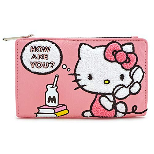 Telephone Kitty Hello (Loungefly Hello Kitty Telephone Flap Wallet)