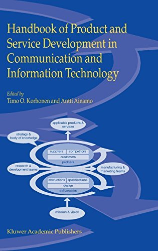 Download Handbook of Product and Service Development in Communication and Information Technology Pdf