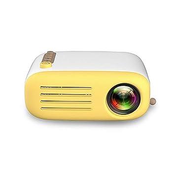ZYZYZ Proyector, YG200 portátil de Bolsillo LED Mini proyector AV ...
