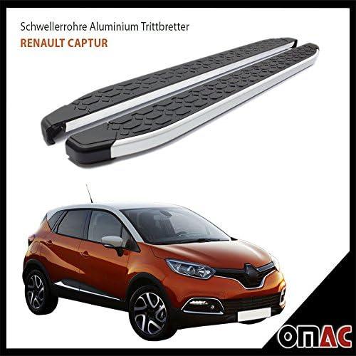 Trittbretter Schwellerrohre Aluminium Kompatibel Mit Renault Captur Blackline 173 Ab 2013 Auto