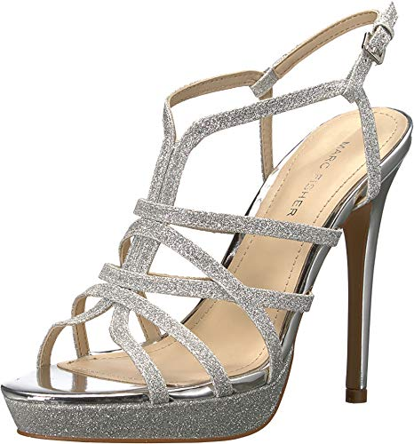 marc fisher shoes silver - 7