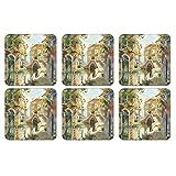 Pimpernel Venetian Scenes Coasters Square Set(s) Of 6