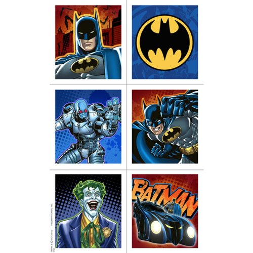 Batman Heroes and Villains Sticker Sheets (4) Party Accessory by Hallmark