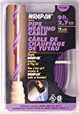 Wrap On 31009 2 Pack 9ft. 18W 120V Pipe Heating Cable, Purple