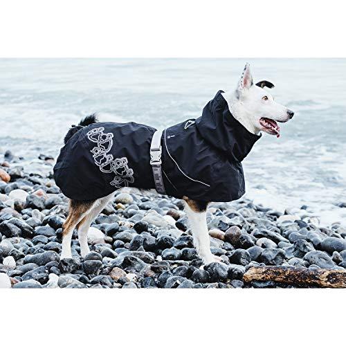 Hurtta Drizzle Coat, Dog Raincoat, Raven, 24 in by Hurtta (Image #3)