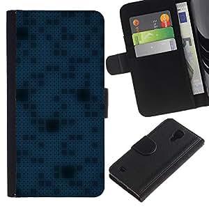 Planetar® Modelo colorido cuero carpeta tirón caso cubierta piel Holster Funda protección Para SAMSUNG Galaxy S4 IV / i9500 / SGH-i337 ( Simple Pattern 11 )