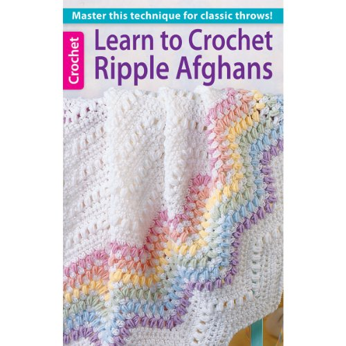 Leisure Arts Learn to Crochet Ripple Afghans Book ()