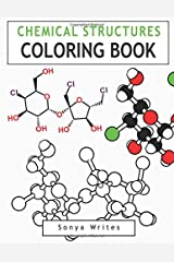 Chemical Structures Coloring Book Paperback