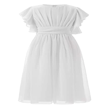 Styhatbag Vestidos Formales de Fiesta Vestido de Boda para niños Rendimiento de Las niñas Concurso de