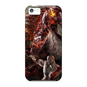 AlexandraWiebe Iphone 5c Well-designed Hard Cases Covers God Of War 2 Protector