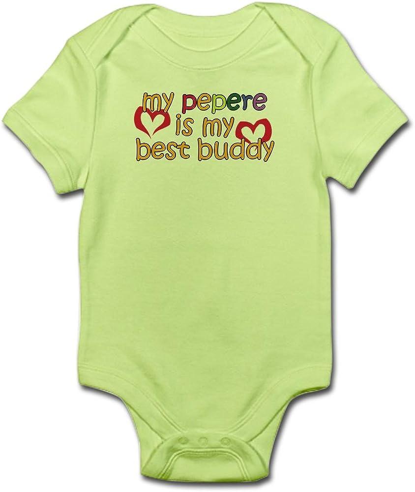 Pepere is My Best Buddy Cute Infant Bodysuit Baby Romper CafePress