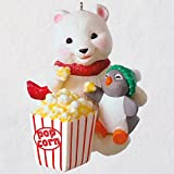 Hallmark Snowball and Tuxedo Movie Night Ornament keepsake-ornaments Animals & Nature,Eat & Drink