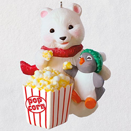 Ornament Snowball - Hallmark Keepsake Christmas Ornament 2018 Year Dated, Snowball and Tuxedo Movie Night