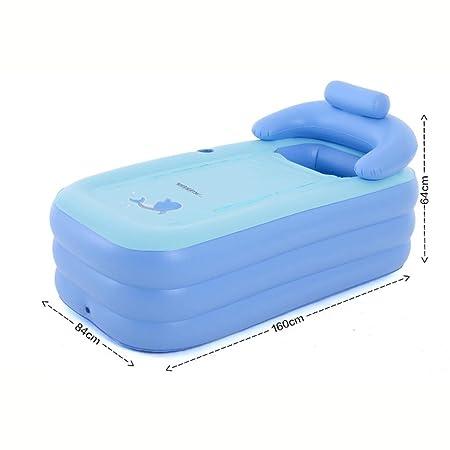cqdq respectueux de medio ambiente PVC inflable bañera piscina 160 ...