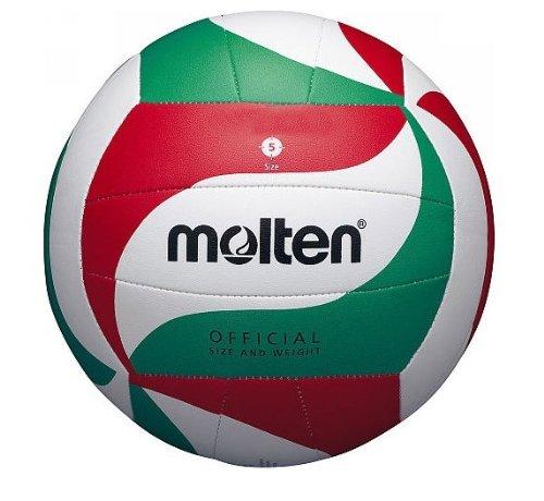 MOLTEN - Pelota de voleibol (sintética, cosida a mano), color blanco V5M1800-L