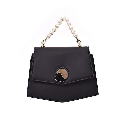 aea5d607e9cb Amazon.com: Gogoodgo Women Fashion Handbags Pearl Tote Bags with ...
