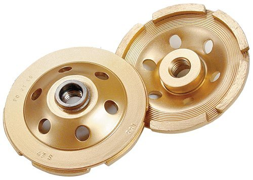 Diamond Products Core Cut 28508 5-Inch Single Row Standard Gold Segmented Cup Grinder Builders World Wholesale Distribution