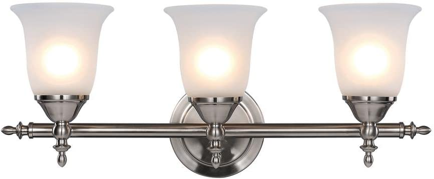 Moen YB8269 90 Degree Bath Lighting Replacement Globe, Frosted