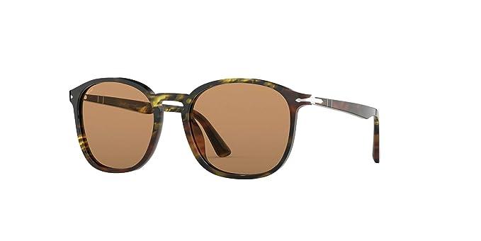 Persol 0PO3215S Gafas de sol, Rectangulares, 54, Tortoise ...