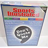 Sports Illustrated Board Game Don't Quote Me
