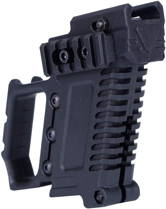 L-Yune, Airsoft Pistolas de Aire Glock Cañón de Agua está Equipado con CS G17 M92 Kit P22 Tactical Equipo Pistola Carabina (Color : Negro)