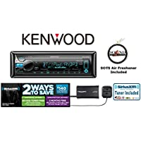 Kenwood KDC-X500 CD Player Built in Bluetooth SiriusXM SXV300v1 Satellite Radio and a FREE SOTS Air Freshener