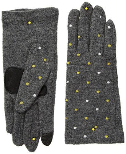 Echo Women's Dot Dot Dot Touch Technology Glove, heather grey, Medium